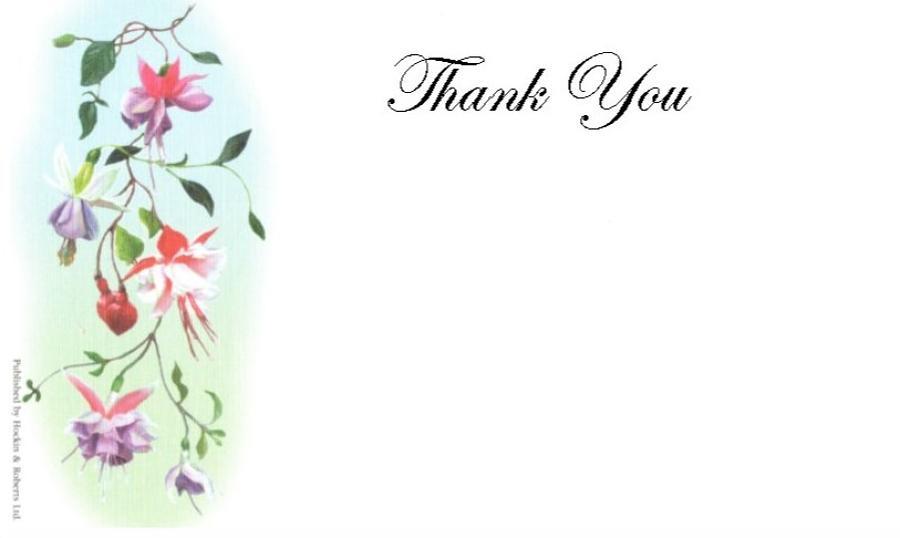 Thank You Cards - Fuchsia