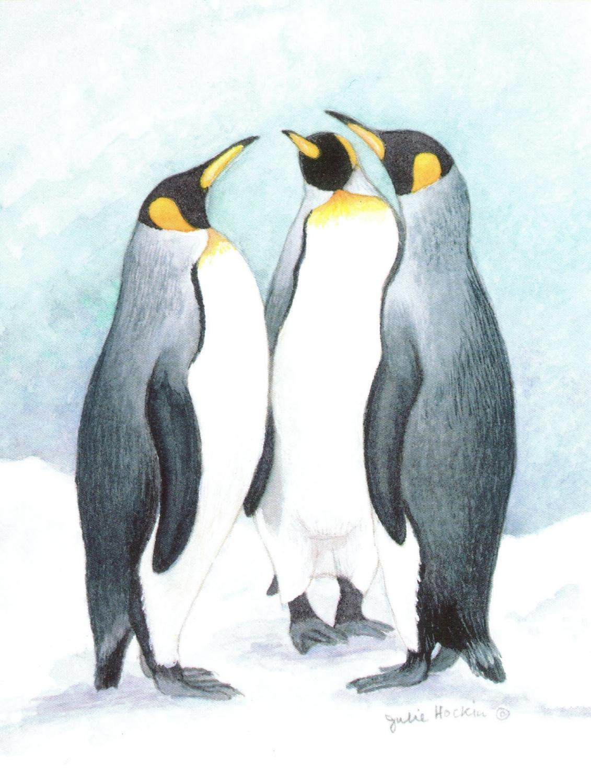 Magnetic Fridge Pad - Penguins