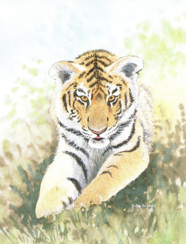 Magnetic Fridge Pad - Tiger Cub