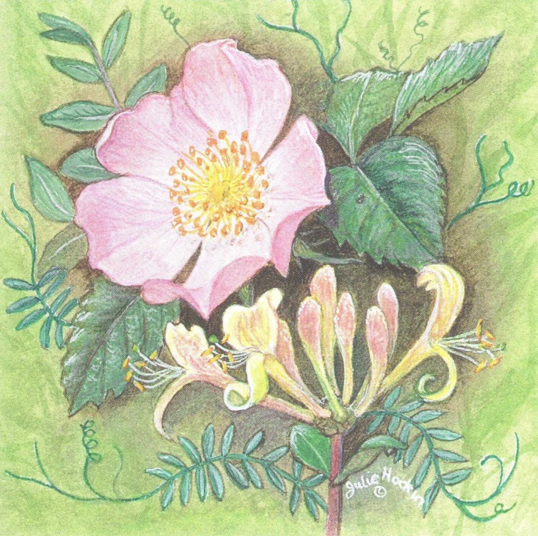 Small Magnetic Fridge Pad - Wild Rose