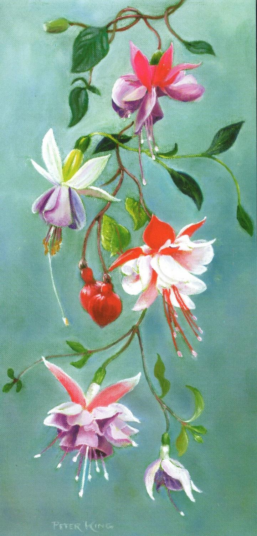 Tall Card - Fuchsia