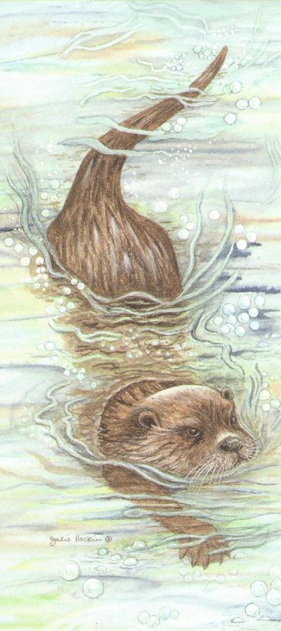 Magnetic Bookmark - Otter