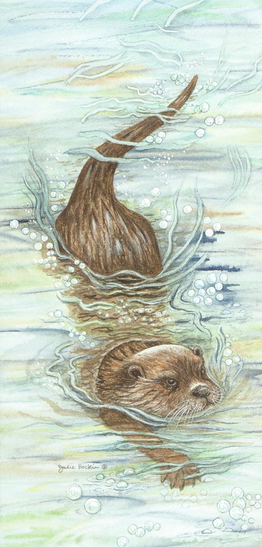 Tall Card - Otter