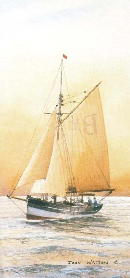 Tall Card - Bristol Channel Pilot Cutter