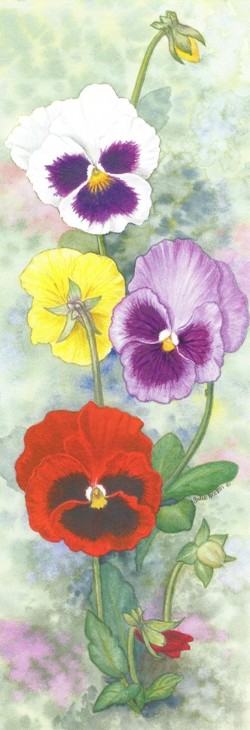 Bookmark - Pansy