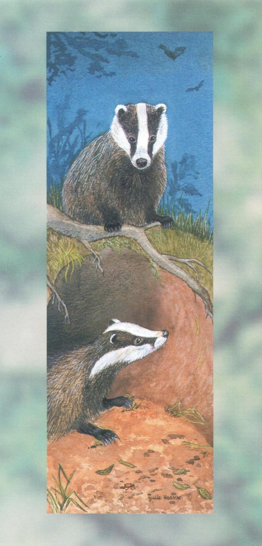 Tall Card - Badgers