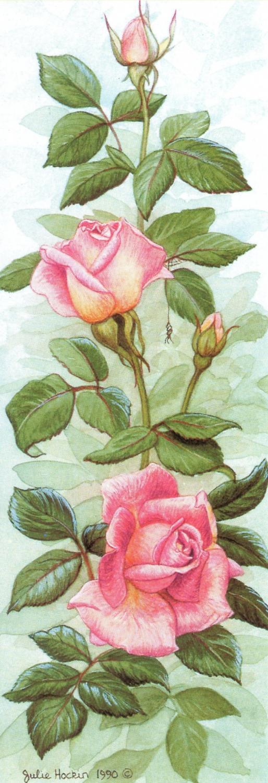 Bookmark - Roses