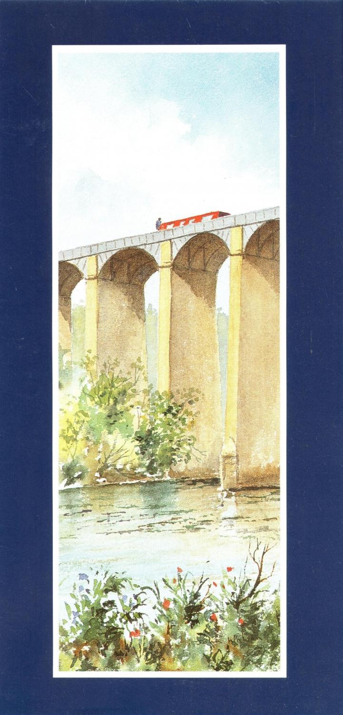 Tall Card - Aquaduct