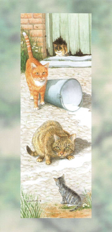 Tall Card - Farmyard Cats