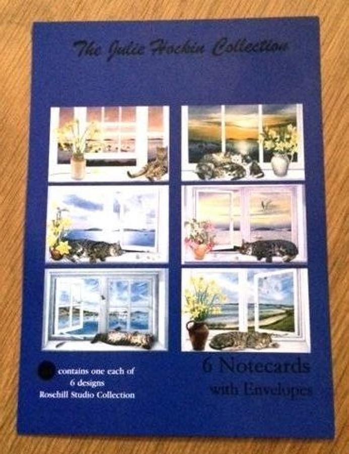Notecards - Cats in Windows, Rosehill Studio