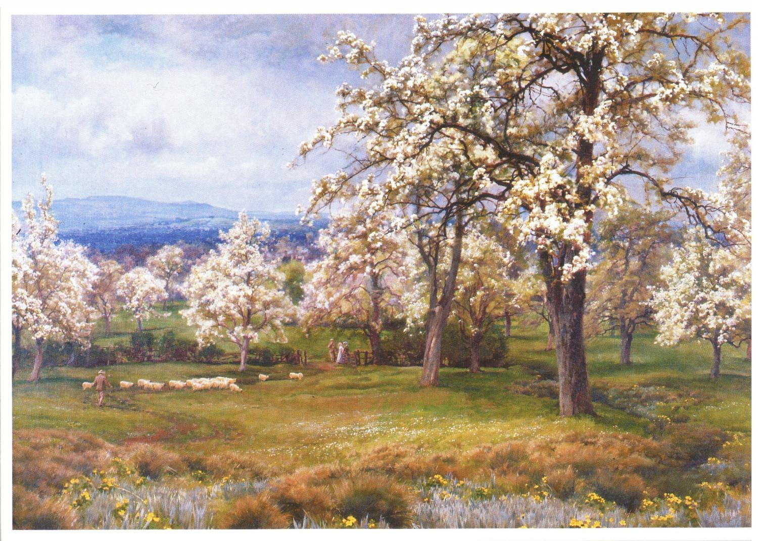 Card - The Pear Orchard