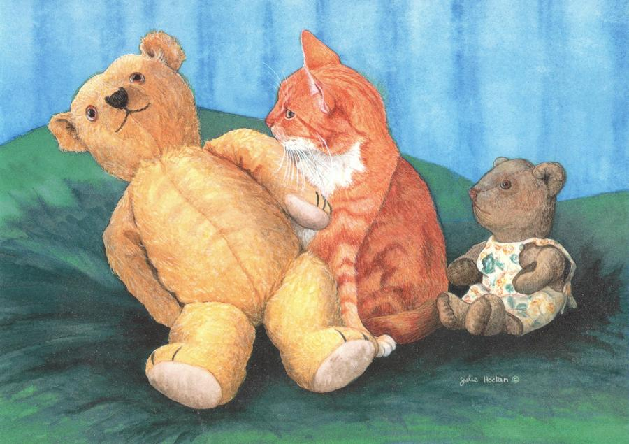 Card - Big Ted, Little Ted & Floss