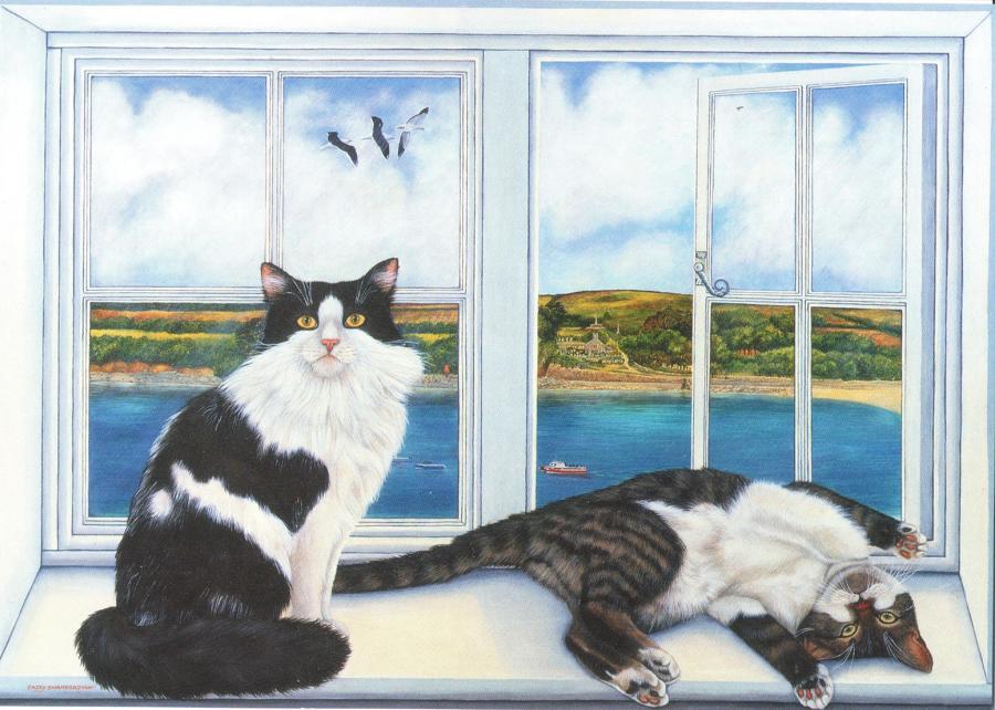 A6 Card - Tinker & Nora