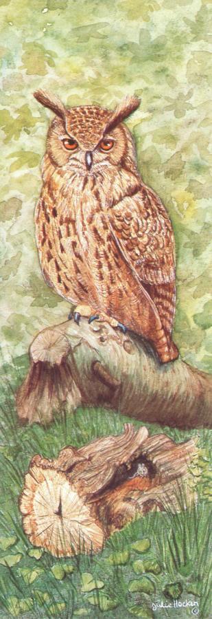 Bookmark - Eagle Owl