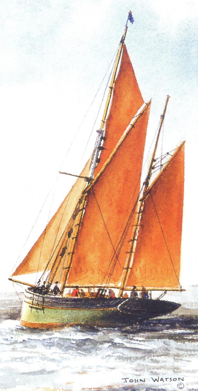 Money Card - Brixham Trawler