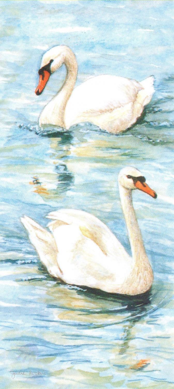 Magnetic Bookmark - Mute Swan