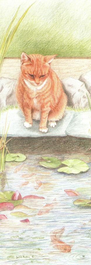 Pen & Pad Set - Ginger Cat